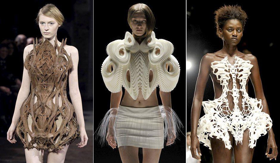 Iris Van Herpen 3D Printed Designs.