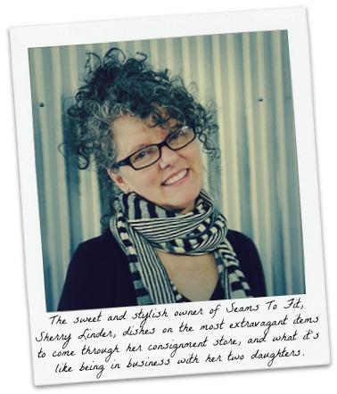 Sherry Admired Polaroid