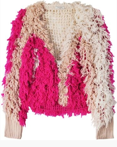 Ryan Roche Crochet Cardigan