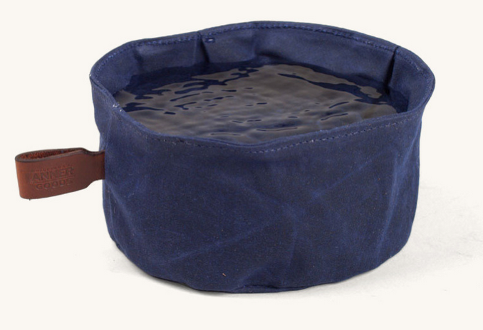 Tanner Canvas Dog Bowl