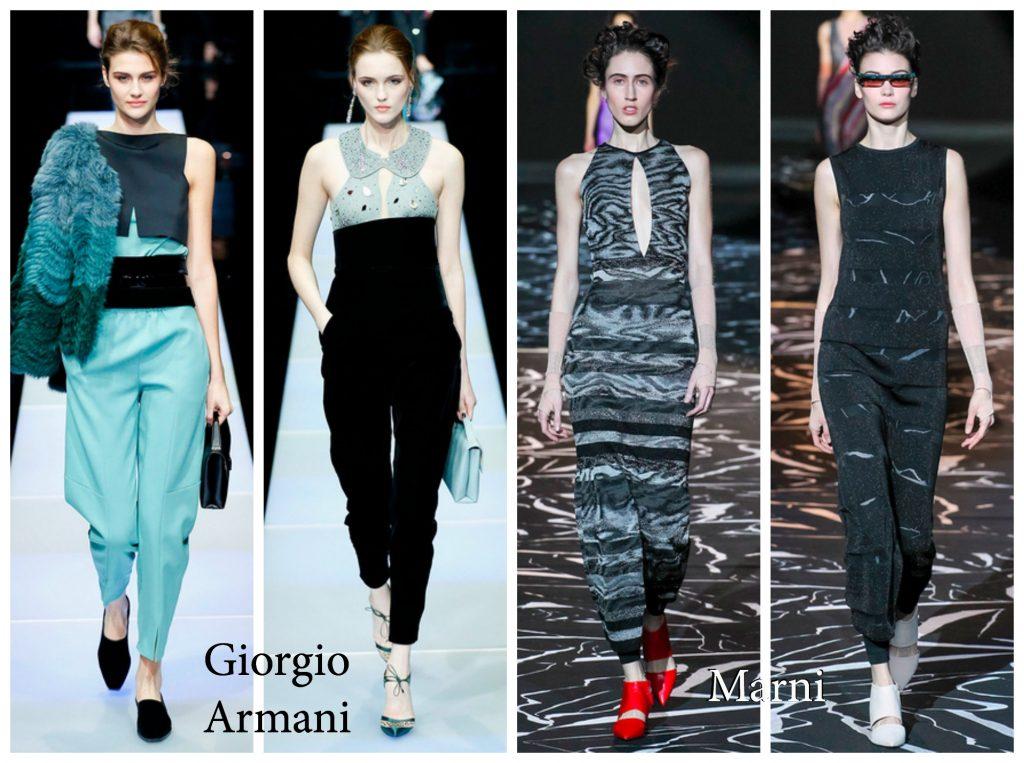 Armani/Marni RTW 2015