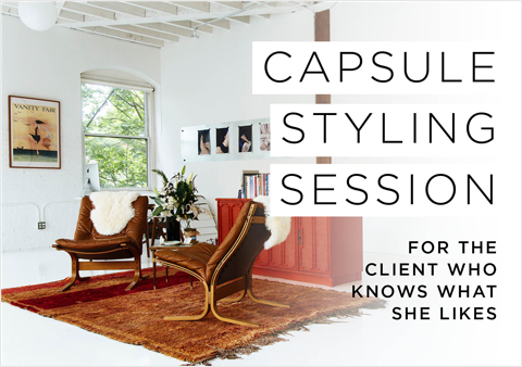 capsule styling session - scarlet chamberlin styling co