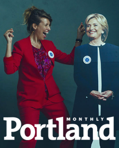 #pantsuitsforhilary scarlet chamberlin portland monthly