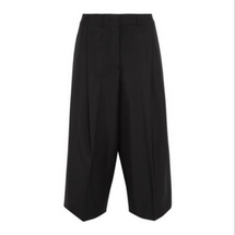 Jil Sander Cropped pleated trouser