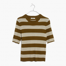Madewell ribbed striped sweater