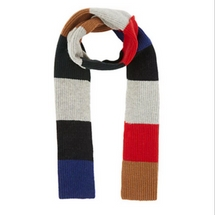 Lanvin Color Block Scarf