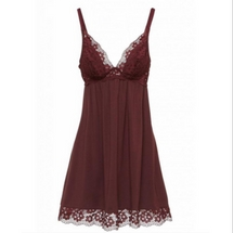 Eberjey Jersey and Lace Chamise